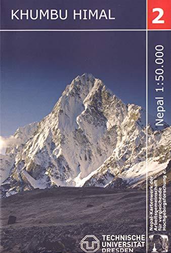 Khumbu Himal Trekking-Karte 1 : 50 000: Nelles Verlag GmbH