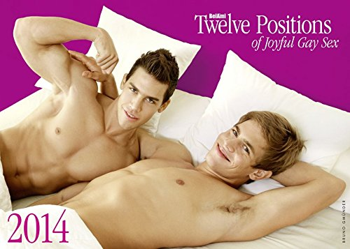 9783867875752: Twelve Positions of Joyful Gay Sex 2014 Calendar