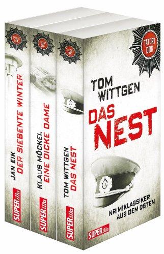 9783867894142: Tatort DDR Sparpaket, Band 1-3: Kriminalklassiker aus dem Osten: Staffel 1