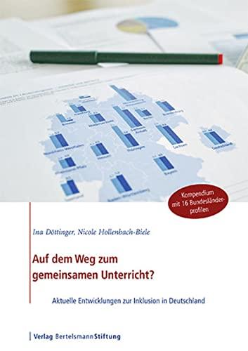 9783867935869: Auf dem Weg zum gemeinsamen Unterricht?: Aktuelle Entwicklungen zur Inklusion in Deutschland