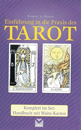 9783868032208: Einführung in die Praxis des Tarot: Komplett im Set: Handbuch mit Waite-Karten