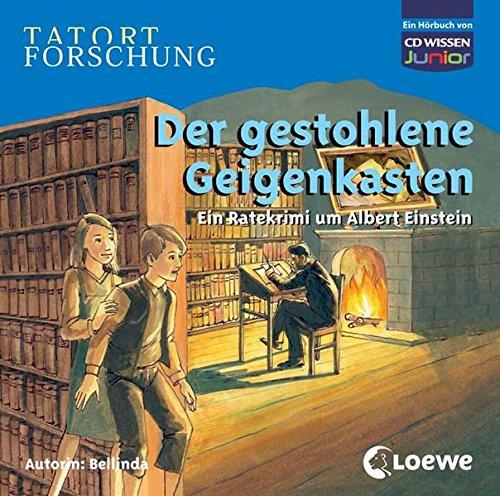 9783868040210: TATORT FORSCHUNG: Der gestohlene Geigenkasten - Ein Ratekrimi um Albert Einstein