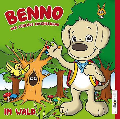 9783868043105: Benno, der schlaue Kuschelhund - Im Wald
