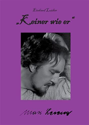 9783868054095: Luther, E:Keiner wie er - Max Lorenz