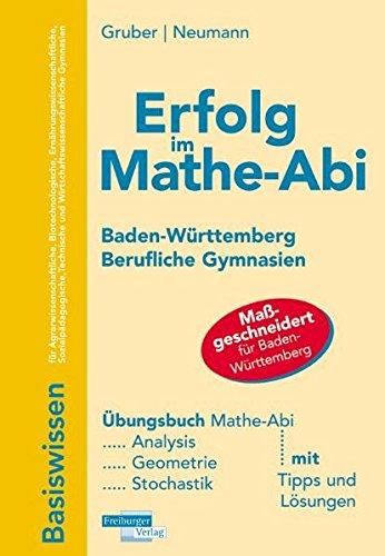 Erfolg im Mathe-Abi 2010 Baden-Württemberg berufliche Gymnasien: Neumann, Robert