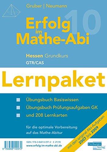 9783868140972: Erfolg im Mathe-Abi 2010 Lernpaket Hessen Grundkurs GTR + CAS: Übungsbücher für das Basiswissen und Prüfungsaufgaben in Hessen mit Tipps und Lösungen ... optimale Vorbereitung auf das Mathe-Abitur
