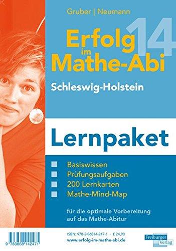 9783868142471: Erfolg im Mathe-Abi 2014 Lernpaket Schleswig-Holstein