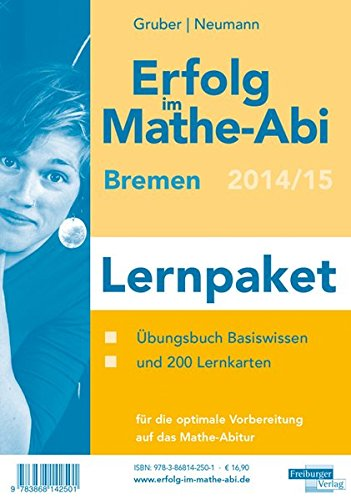 9783868142501: Erfolg im Mathe-Abi 2014 Lernpaket Bremen