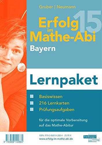 9783868142884: Erfolg im Mathe-Abi 2015 Lernpaket Bayern: Enthält