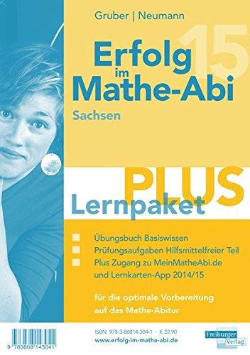 9783868143041: Erfolg im Mathe-Abi 2015 Lernpaket PLUS Sachsen: Enthält