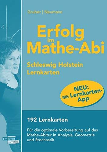 9783868143577: Erfolg im Mathe-Abi Lernkarten mit App Schleswig-Holstein