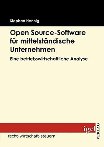 9783868150964: Open source-Software für mittelständische Unternehmen