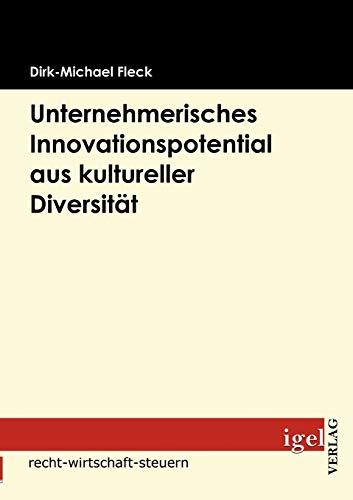 9783868151503: Unternehmerisches Innovationspotential aus kultureller Diversität (German Edition)