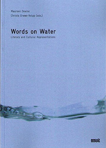 9783868210491: Words on Water: Literary and Cultural Representations