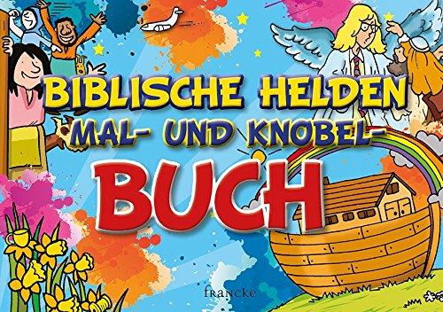 Biblische Helden Mal- und Kobel-Buch (Paperback)