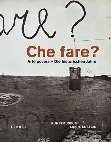 9783868281651: Che fare? Arte povera: Die historischen Jahre