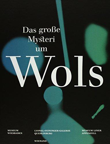 9783868321876: Wols: Das gro�e Mysterium