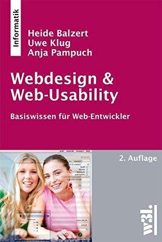 9783868340112: Webdesign & Web-Usability: Basiswissen für Web-Entwickler