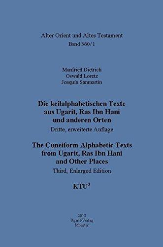 Cuneiform Alphabetic Texts - KTU3 3rd, Enlarged Edition