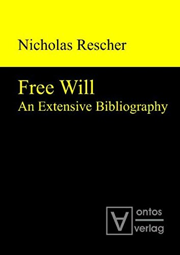 9783868380583: Free Will: An Extensive Bibliography