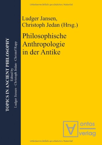 9783868381016: Philosophische Anthropologie in der Antike