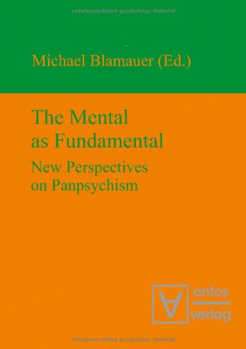 9783868381146: The Mental as Fundamental: New Perspectives on Panpsychism