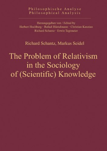 9783868381283: The Problem of Relativism in the Sociology of (Scientific) Knowledge (Philosophical Analysis)