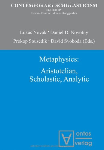 9783868381467: Metaphysics: Aristotelian, Scholastic, Analytic (Contemporary Scholasticism)