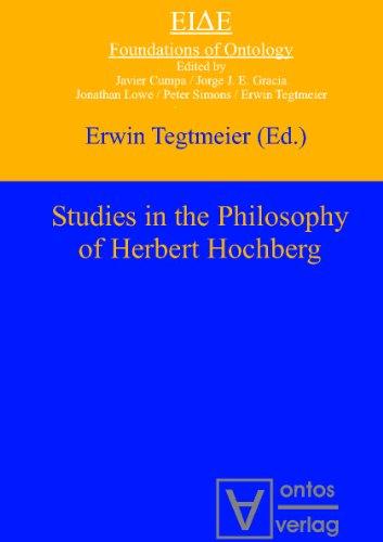 9783868381641: Studies in the Philosophy of Herbert Hochberg