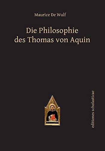 9783868385366: Die Philosophie des Thomas von Aquin