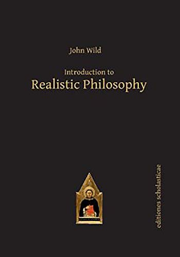 9783868385533: Introduction to Realistic Philosophy (Editiones Scholasticae)