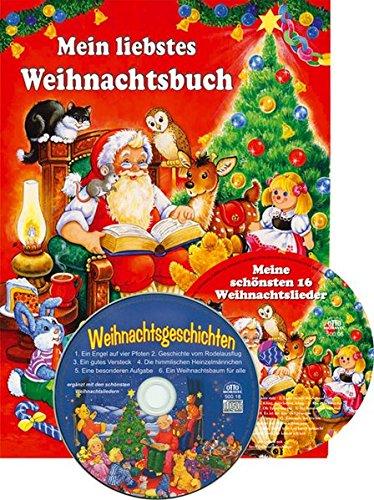 9783868482386: Mein liebstes Weihnachtsbuch. Mit 2 CDs