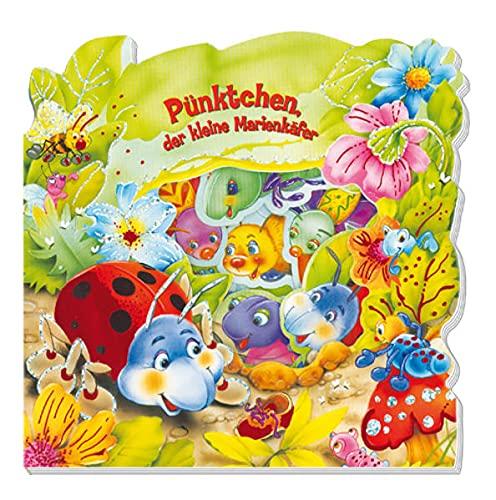 9783868483659: Pünktchen, der kleine Marienkäfer: Pappenbuch mit Stanzungen