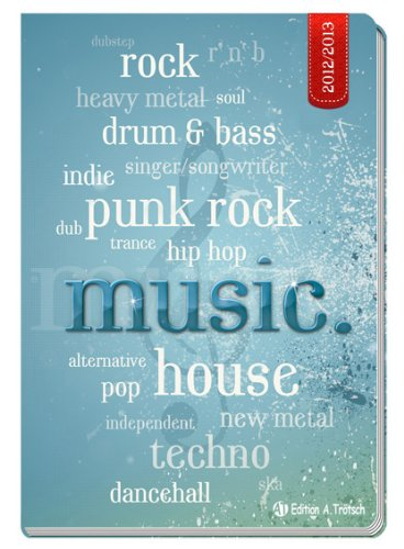 9783868484656: Sch�lerkalender Flexi Music.2012/2013