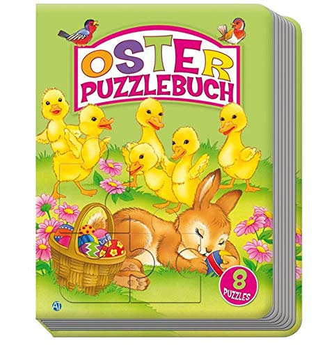 9783868486186: Oster-Puzzlebuch mit 8 Puzzles