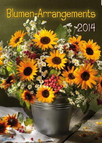 9783868486834: Grossbildkalender Blumen-Arrangements 2014