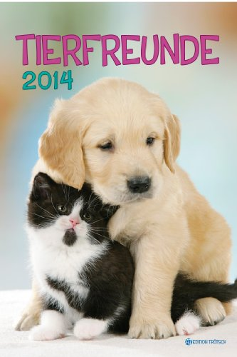 9783868487060: Mediumkalender Tierfreunde 2014