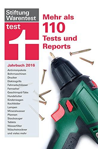 9783868514223: test Jahrbuch 2016: Mehr als 120 Tests und Reports