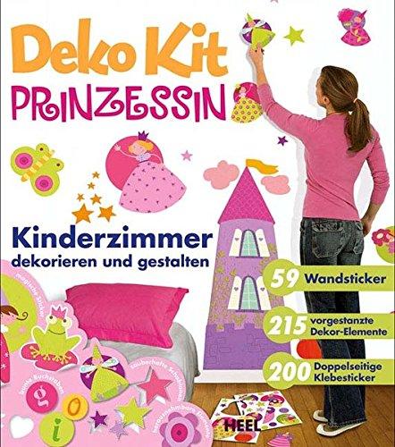 9783868520781: Kinderzimmer dekorieren & gestalten: Prinzessin: Kinderzimmer dekorieren und gestalten. MIt 59 Wandsticker, 215 vorgestanzte Dekor-Elemente, 200 Doppelseitige Klebesticker