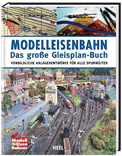 9783868524994: Modelleisenbahn - Das große Gleisplan-Buch