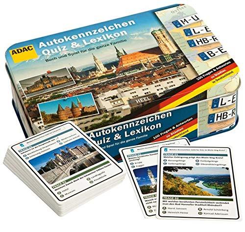 9783868527629: Autokennzeichen Quiz: Buch & Spiel für die ganze Familie