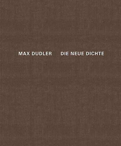 9783868591989: Max Dudler Die neue Dichte