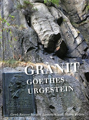 9783868630978: Granit � Goethes Urgestein