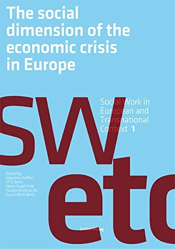 9783868631159: The Social Dimension of the Economic Crisis in Europe
