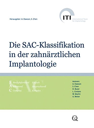 Die SAC-Klassifikation in der zahnärztlichen Implantologie: Anthony Dawson