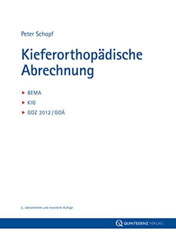 Kieferorthopädische Abrechnung: Peter Schopf