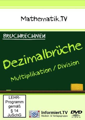 9783868681086: Mathematik.TV: Bruchrechnen - Dezimalbrüche Multip [Import allemand]