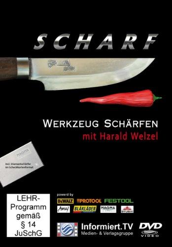 9783868681208: Werkzeugschrfen mit Harald Welzel [Import allemand]