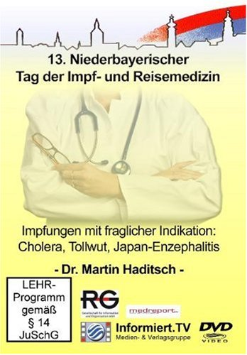 9783868681321: Medreport.TV - Impfungen mit fraglicher Indikation: Cholera, Tollwut, ... [Alemania] [DVD]