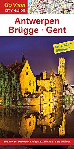 9783868712469: Städteführer Antwerpen · Brügge · Gent: Reiseführer mit Faltkarte